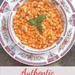 pinnable image for pasta e fagioli